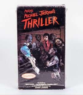 Michael Jackson: Thriller / En VHS / Original de 1983 / Único