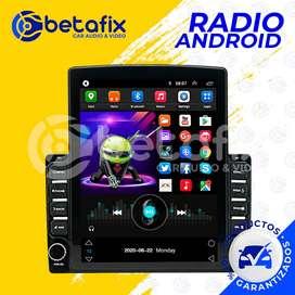 RADIO ANDROID UNIVERSAL 9.7 PULGADAS GPS BT USB WIFI BETAFIX