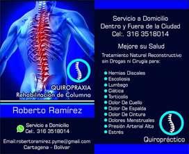 Quiropractico Certificado. Experto.