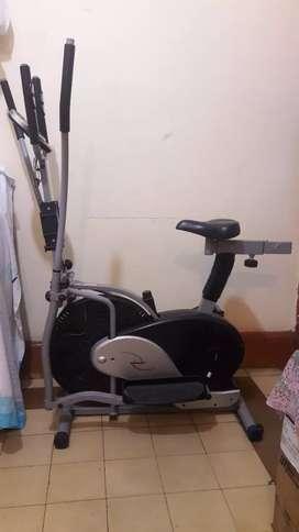 Venta de bicicleta de gimnasio.