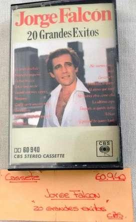 cassette Jorge Falcon 20 Grandes Exitos