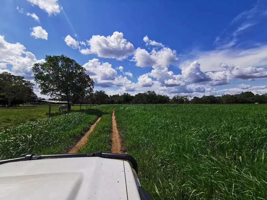 Hermosa finca ganadera de 400 hectáreas toda hecha... Excelente tierra 0