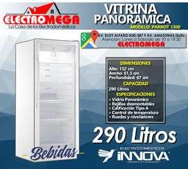 Vitrina Refrigeradora Frigorífica Innova 290 Litros