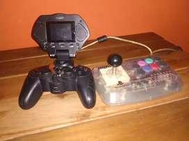 Joystick stick + joystick pantalla