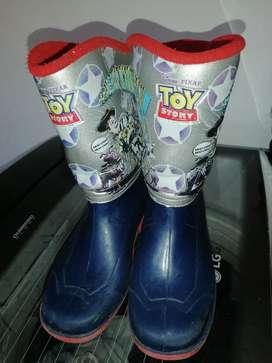Botas de caucho toy story