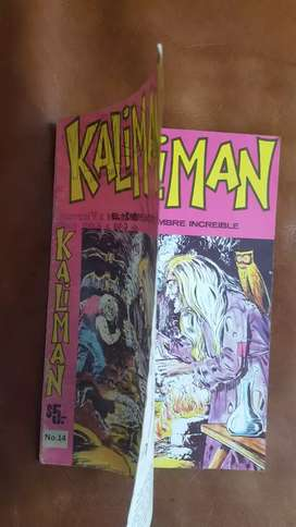 Rareza en cómics de Kaliman