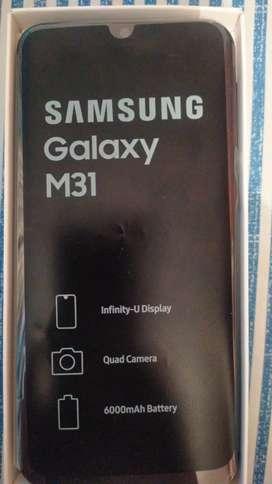 Samsung galaxy M31 nuevo