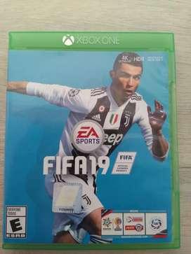 Juego FIFA 19  (Uso un año)