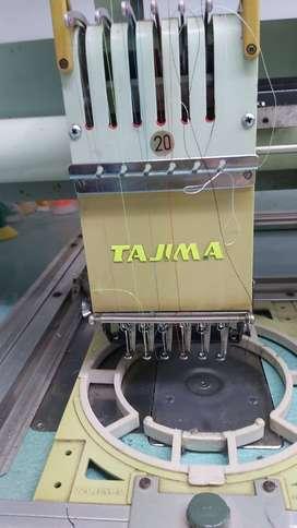 Maquina bordadora Tajima 20 cabezales