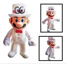 Figura Mario Bros Colección Mario Boda Juguete Figuras