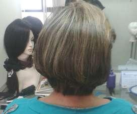 Peluca de cabello Natural...negociable!!!