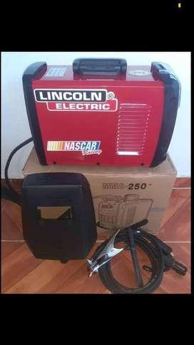 Super precio!! Inversor 250MMA  Lincoln,  equipo soldador tres tarjetas, USA. Calidad garantizada