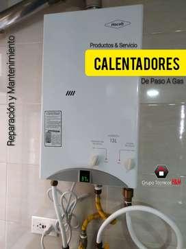 Mantenimiento Calentadores Chía / Cajicá / Cota Cundinamarca, Técnicos de Calentadores de Paso, Reparación Calentadores