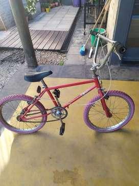 Bicicleta cross rodado 20