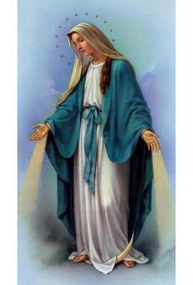 Virgen María Lienzo Lienzografía Impresión Reproducción60x90