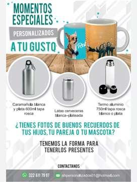 Mugs (vasos) personalizados
