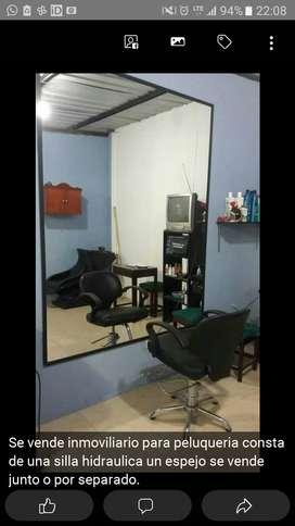 Moviliario para peluqueria