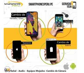 Pantalla Alcatel pop 4 plus + Garantia / Servicio tecnico celulares