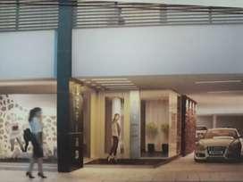 Dpto amplio 2 dormitorios edificio con detalles de categoria contrafrente con balcon