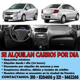 ALQUILAMOS CARROS EN PEREIRA