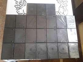 Lote Cajas Para Dvd Dobles, Box & Slim Excelentes!!!