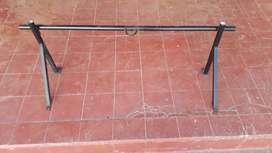 Vdo barra dominada con soporte para bolsa de box