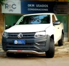 VW Amarok SC 2.0L TDi 140cv 4x2 ´17 con 61.200km - Excelente Estado!!