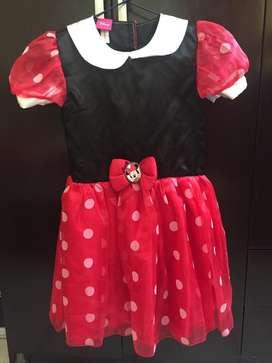 Vestido Minnie Mouse T 5-6