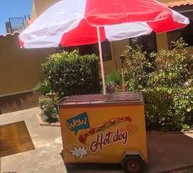 Alquiler de Carrito de Hot Dog para tus Fiestas Informacin 0979212015