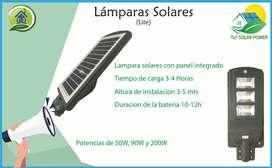 Lampara Solar Economica