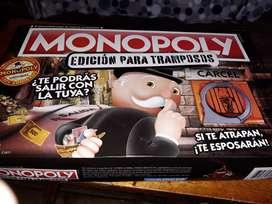 Vendo monopolio juego para tramposos