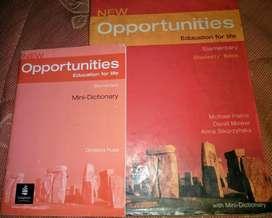 Vendo Libro de Ingles 'new Opportunities