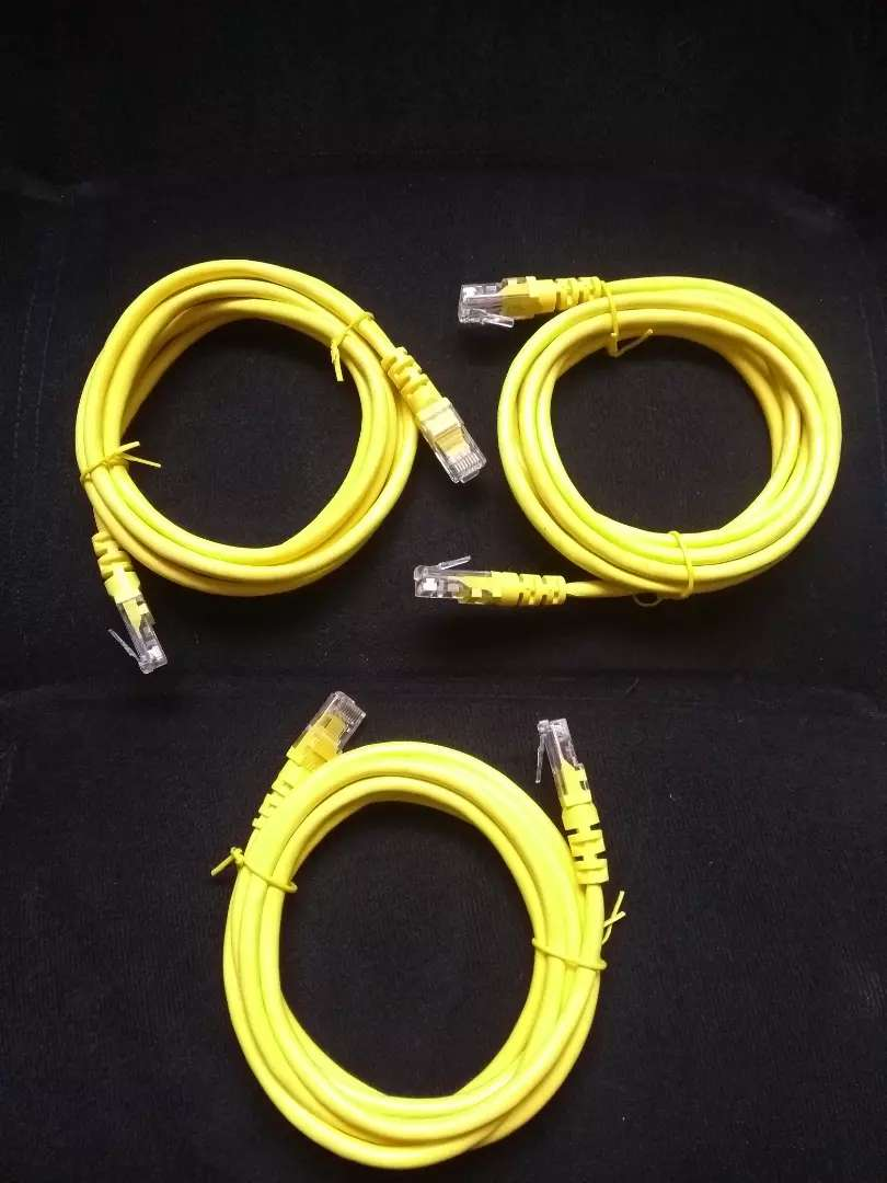 Cable lan RJ45 de 2 mts