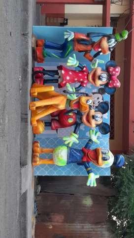 Personajes de mickey y sus amigos