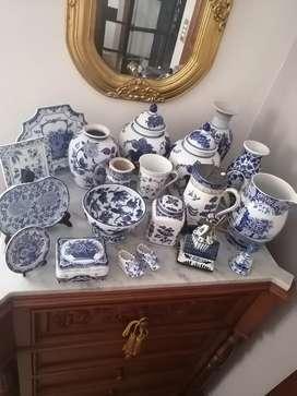 Colección de Porcelana Inglesa, Holandesa y China