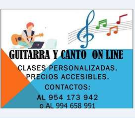 CLASES DE GUITARRA ON LINE