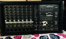 Amplificador consola ponic