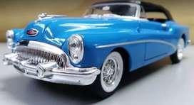 Buick Skylark 1953 Azúl Escala 1:24, 20 Centímetros de Largo Metálico, Maisto