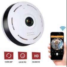 Camara Ip Hd Domo Wifi 360 Kanji Domu Panoramica Usb Fisheye