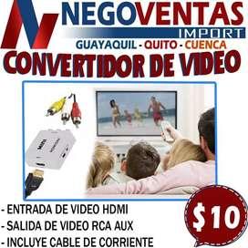 CONVERTIDOR DE VIDEO HDMI A RCA