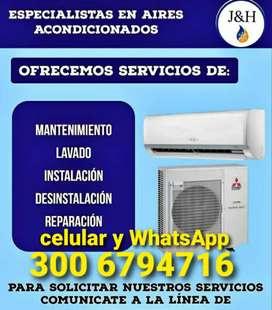 Mantenimiento de aires acondicionado