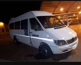 Mercedes Benz Sprinter 413 modelo 2009 19+1