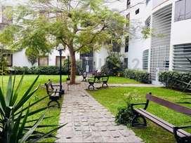 Venta de acogedor departamento frente a parque $155mil