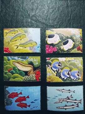 Vendo colección especial estampillas islas palao