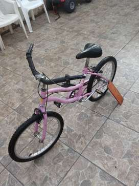 Bicicleta de nena rodado 20 muy buena