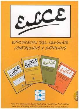 Test de Lenguaje -ELCE (Exploración del Lenguaje Comprensivo y Expresivo)