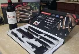 Cuchillos Everwealth 7 piezas
