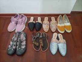 Zapatos flats amarillos