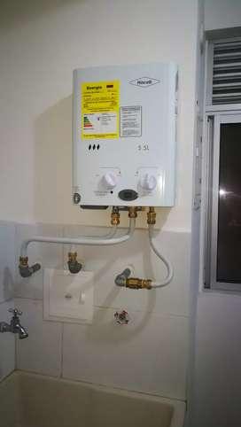Técnicos especializados en calentadores a gas