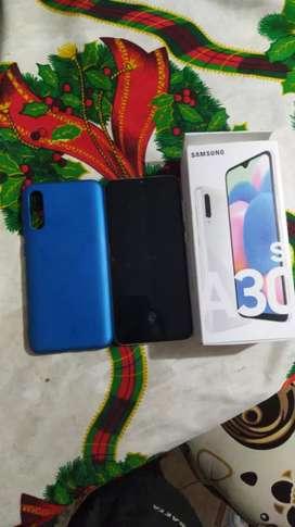 Celular Samsung galaxy A30s color blanco arcoiris